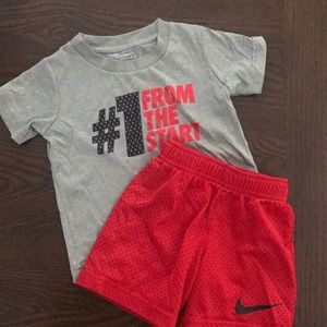 Jersey short and T Shirt set
